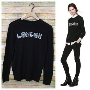 Thakoon for DesignNation London Graphic Sweater L